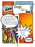 "Stage ""Pop art Comics"""